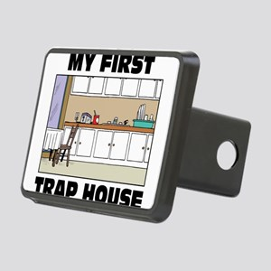My First Trap house Rectangular Hitch Cover