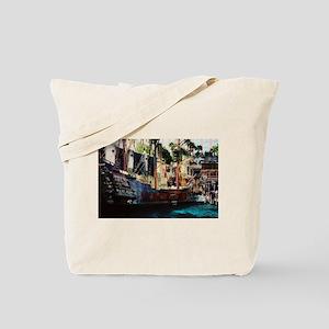 Treasure Island Ship Las Vegas Tote Bag