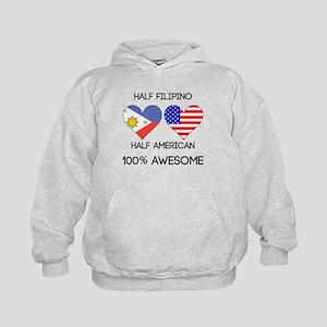 Half Filipino Half American Hoodie