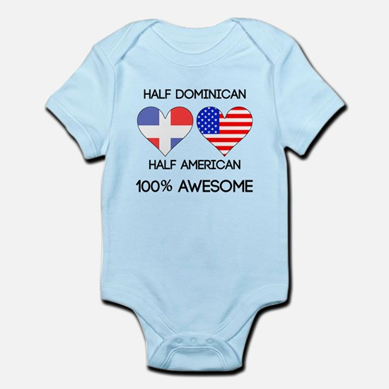Half Dominican Half American Body Suit