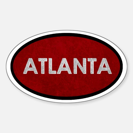ATLANTA Red Stone Decal