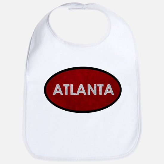 ATLANTA Red Stone Bib