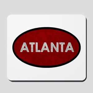 ATLANTA Red Stone Mousepad