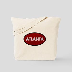 ATLANTA Red Stone Tote Bag