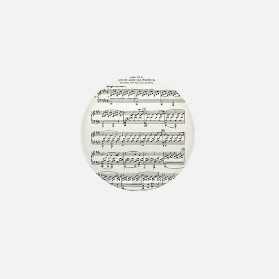 Moonlight-Sonata-Ludwig-Beet Mini Button (10 pack)