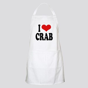 I Love Crab BBQ Apron