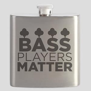 Bass Players Matter Flask