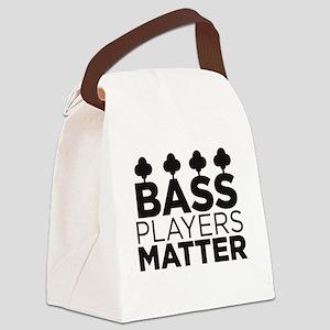 Bass Players Matter Canvas Lunch Bag
