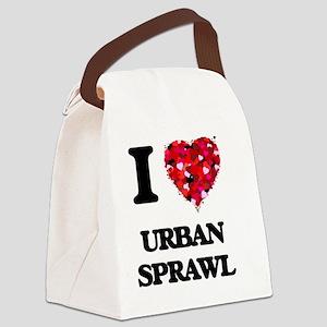 I love Urban Sprawl Canvas Lunch Bag