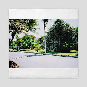 Tropical Venue Queen Duvet