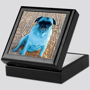 Chinese Pug Keepsake Box