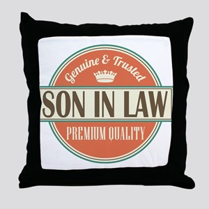 Son In Law Throw Pillow