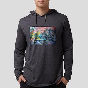 Graffiti City Scape Long Sleeve T-Shirt