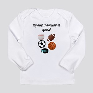 My Aunt Is Awesome At Sports Long Sleeve T-Shirt