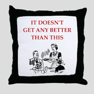 dining Throw Pillow