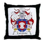 Camisao Family Crest  Throw Pillow