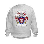 Camisao Family Crest  Kids Sweatshirt