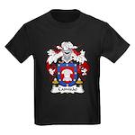 Camisao Family Crest  Kids Dark T-Shirt