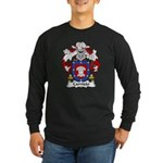 Camisao Family Crest Long Sleeve Dark T-Shirt