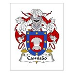 Camisao Family Crest  Small Poster