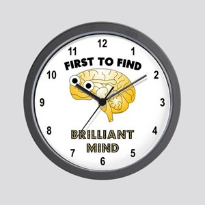 FTF Brain Wall Clock
