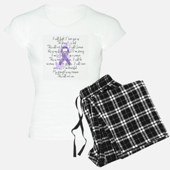 Purple Ribbon, poem Pajamas