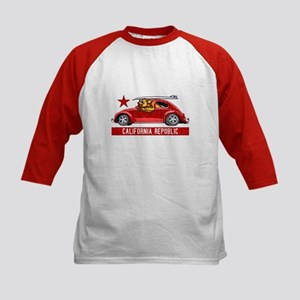 California Republic Surfer Bear Baseball Jersey