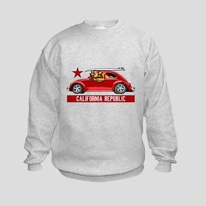 California Republic Surfer Bear Sweatshirt