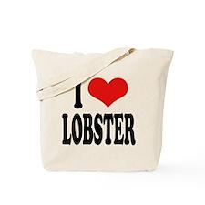 I Love Lobster Tote Bag