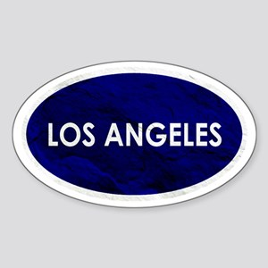 Los Angeles Blue Stone Sticker