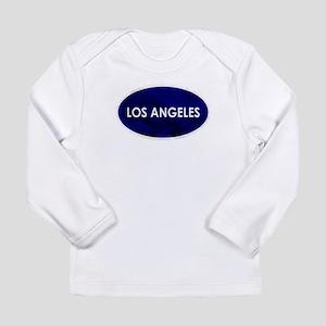Los Angeles Blue Stone Long Sleeve T-Shirt