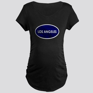 Los Angeles Blue Stone Maternity T-Shirt