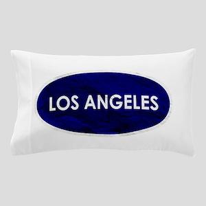 Los Angeles Blue Stone Pillow Case