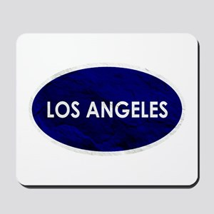 Los Angeles Blue Stone Mousepad