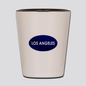 Los Angeles Blue Stone Shot Glass
