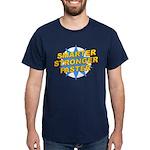 Smarter, Stronger, Faster Dark T-Shirt