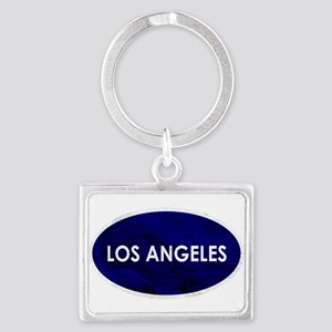 Los Angeles Blue Stone Keychains