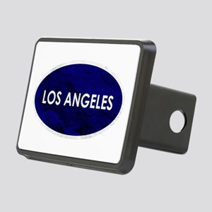 Los Angeles Blue Stone Rectangular Hitch Cover