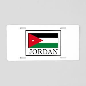Jordan Aluminum License Plate