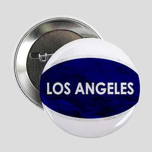 "Los Angeles Blue Stone 2.25"" Button"
