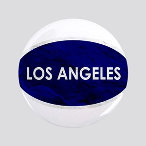 Los Angeles Blue Stone Button