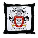 Caldeirao Family Crest Throw Pillow