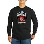 Caldeirao Family Crest Long Sleeve Dark T-Shirt