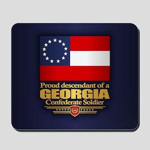 Georgia Proud Descendant Mousepad
