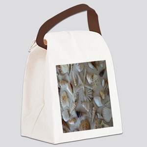 Beautiful Seashells Canvas Lunch Bag