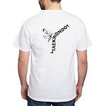 Taekwondo Kicker White T-Shirt