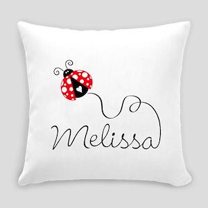 Ladybug Melissa Everyday Pillow