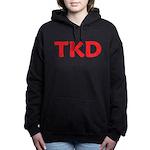TKD Taekwondo Women's Hooded Sweatshirt