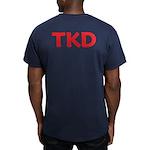 Tkd Taekwondo Men's Fitted T-Shirt (dark)