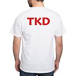 TKD Taekwondo White T-Shirt